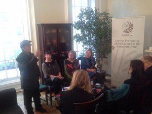 Trafika Europe - Latvian event NYC - May 1 2015