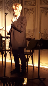 Andrew Singer - Bowery Poetry event
