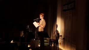 Tess Lewis - Bowery event
