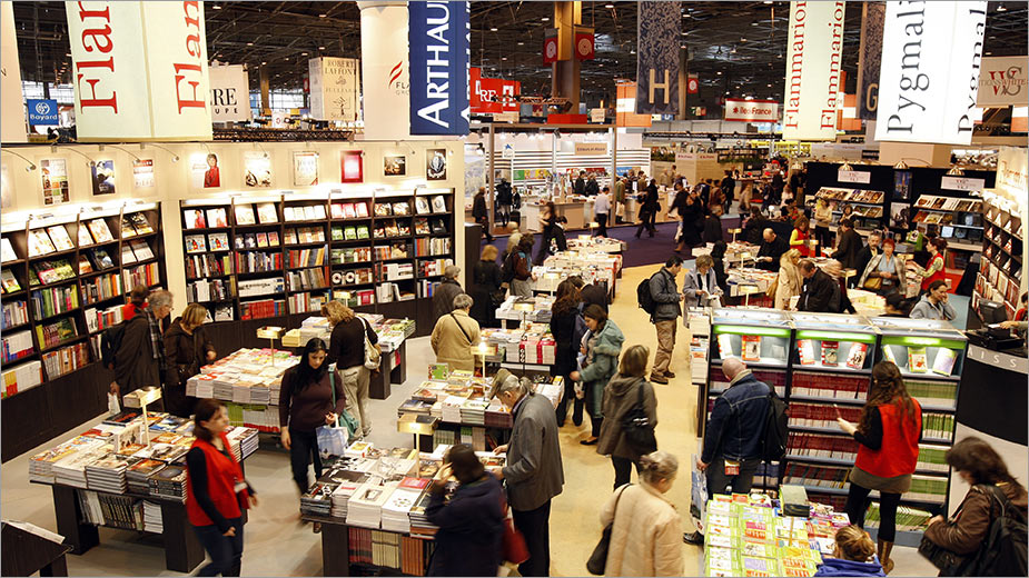salon du livre paris book fair